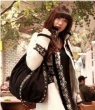 Сумки Саквояжи Модная сумка черного цвета.